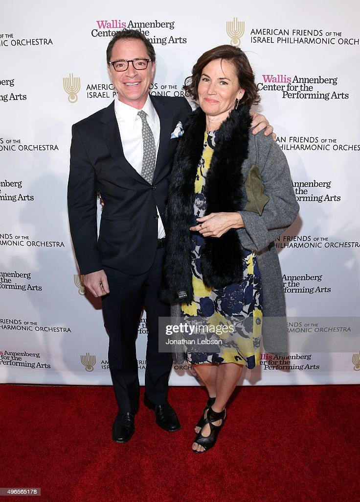 American Friends Of The Israel Philharmonic Orchestra Duet Gala At The Wallis Annenberg Center For The Performing Arts : News Photo