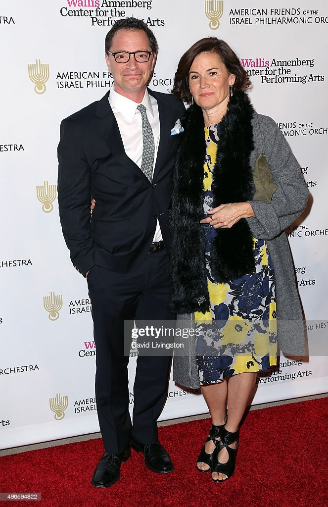 """American Friends Of The Israel Philharmonic Orchestra Host The """"Duet Gala"""" - Arrivals : News Photo"""