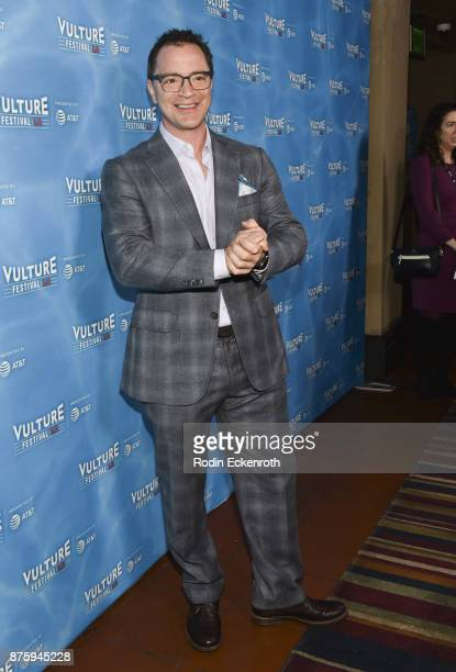Actor Joshua Malina attends the Scandal Final Season Panel at Vulture Festival Los Angeles at Hollywood Roosevelt Hotel on November 18 2017 in...
