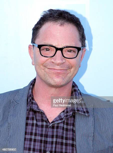 Actor Joshua Malina attends the screening of Mance Media's 'The Young Kieslowski' at the Vista Theatre on July 14 2015 in Los Angeles California