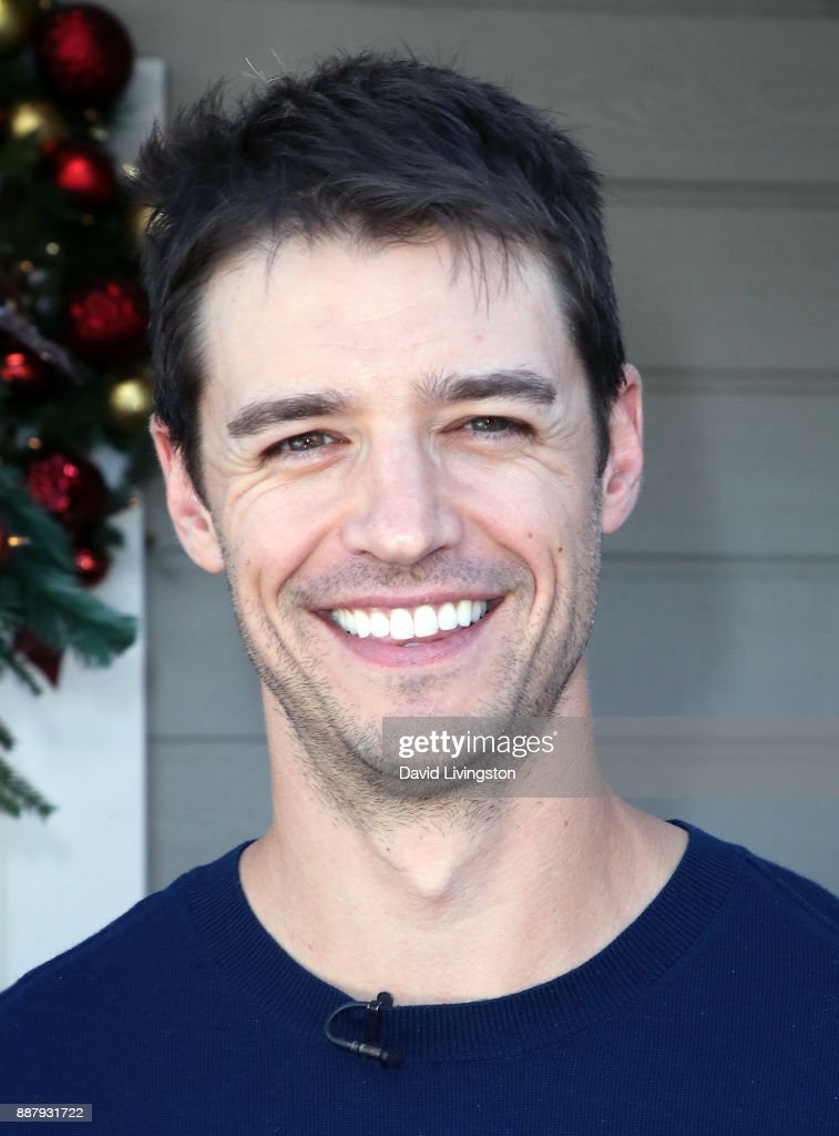 Actor Joshua Snyder visits Hallmark's 'Home & Family' at Universal Studios Hollywood on December 7, 2017 in Universal City, California.