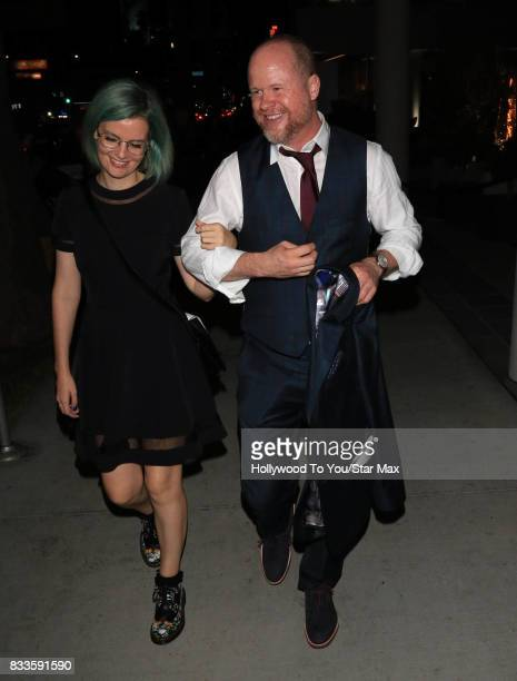 Actor Joss Whedon is seen on August 16 2017 in Los Angeles CA