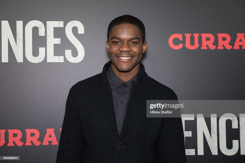 Actor Jovan Adepo arrives at the Premiere of 'Fences' at Curran Theatre on December 15, 2016 in San Francisco, California.