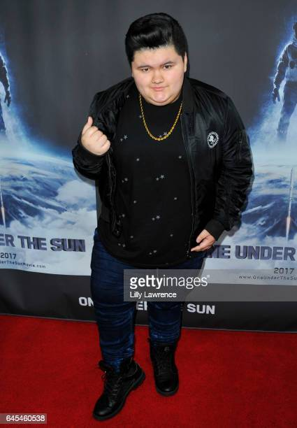 Actor Jovan Armand arrives at One Under The Sun Los Angeles Premiere on February 25 2017 in Los Angeles California