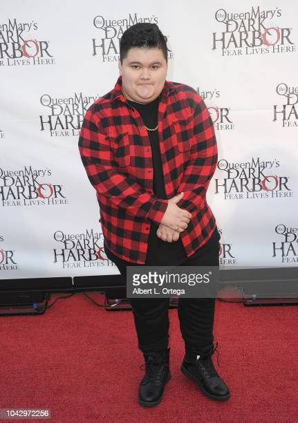 Actor Jovan Armand arrives for The Queen Mary's Dark Harbor Media And VIP Night held at The Queen Mary on September 28 2018 in Long Beach California