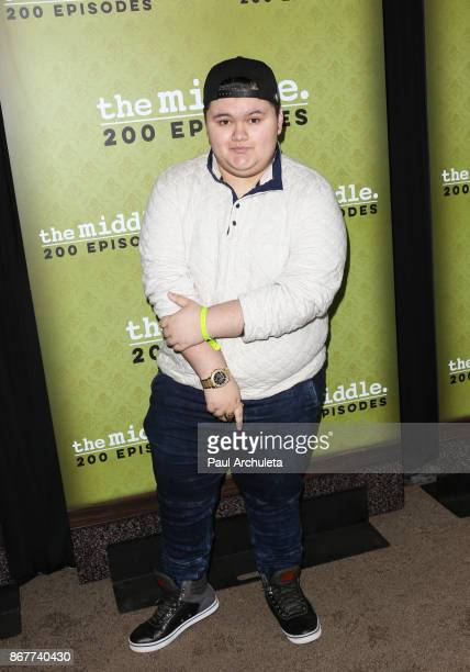 Actor Jovan Armand attends ABC's The Middle 200th episodes celebration at the Fig Olive on October 28 2017 in West Hollywood California