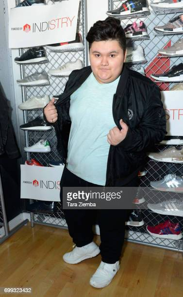 Actor Jovan Armand attends Greg Marks 'Letting Go' single release party at Magnolia Park on June 20 2017 in Burbank California