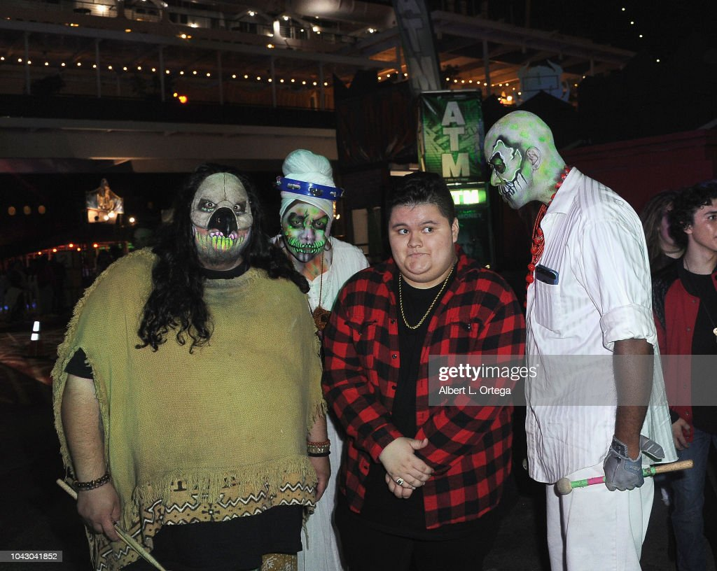 actor jovan armand attends the queen mary's dark harbor media and