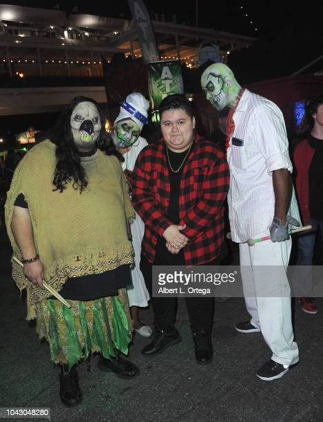 Actor Jovan Armand attends The Queen Mary's Dark Harbor Media And VIP Night held at The Queen Mary on September 28 2018 in Long Beach California