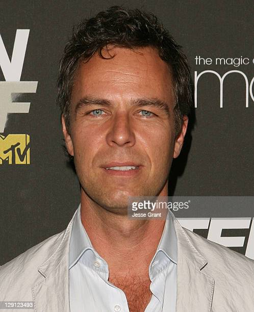Actor JR Bourne arrives at the series premiere of MTV's 'Teen Wolf' at The Roosevelt Hotel on May 25, 2011 in Los Angeles, California.