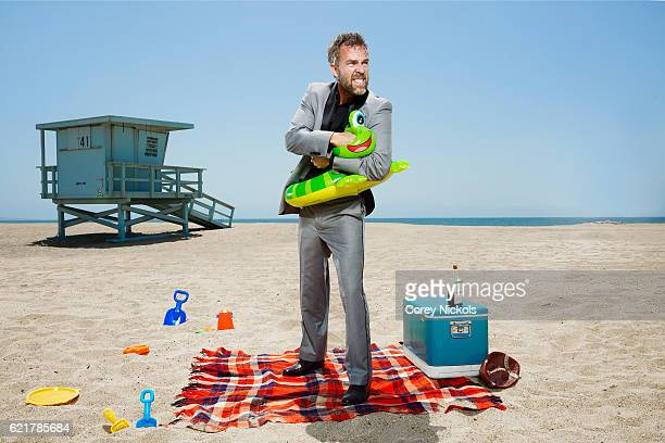 Actor JR Bourne is photographed for Self Assignment on April 29 2016 in Manhattan Beach California