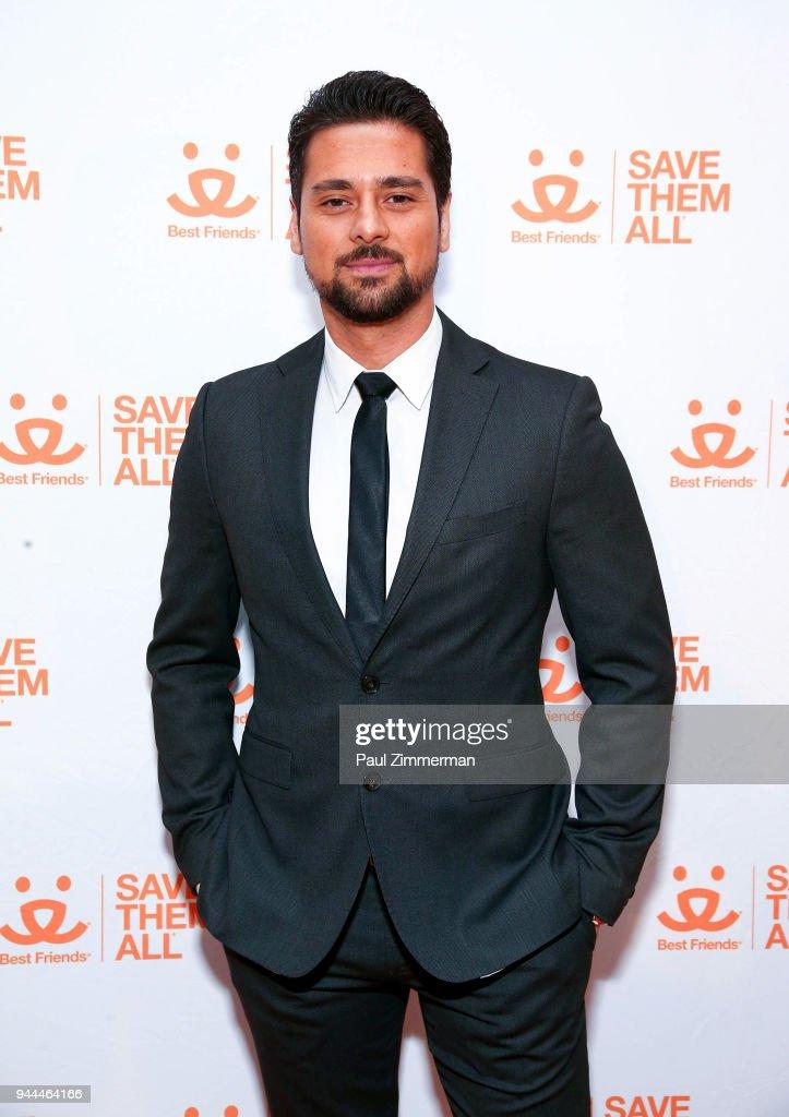 Actor J.R. Ramirez attends 3rd Annual Best Friends Animal Society New York City Gala at Guastavino's on April 10, 2018 in New York City.