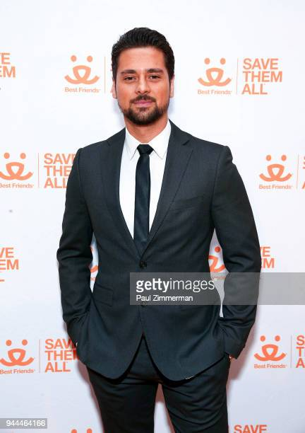 Actor JR Ramirez attends 3rd Annual Best Friends Animal Society New York City Gala at Guastavino's on April 10 2018 in New York City