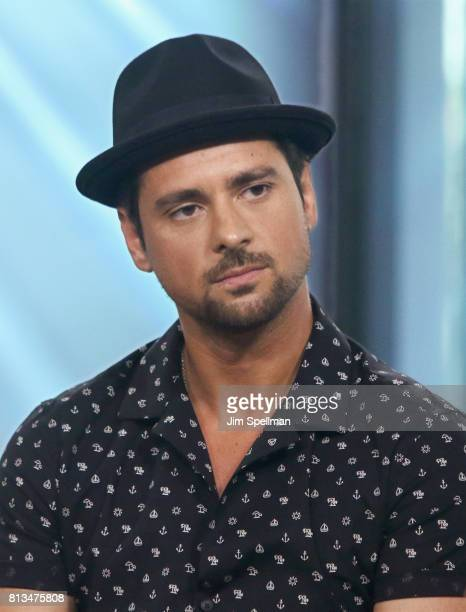 Actor JR Ramirez attends Build to discuss Powerat Build Studio on July 12 2017 in New York City