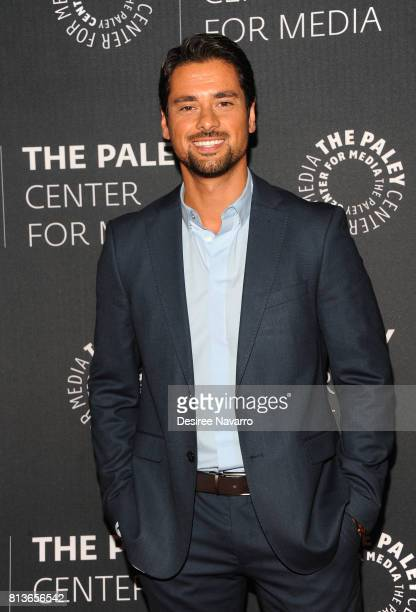 Actor JR Ramirez attends PaleyLive NY Presents An Evening with the Cast and Creative Team of 'Power' at The Paley Center for Media on July 12 2017 in...