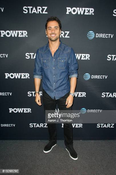 Actor JR Ramirez attends Power in store appearance at the ATT store on July 15 2017 in Troy Michigan
