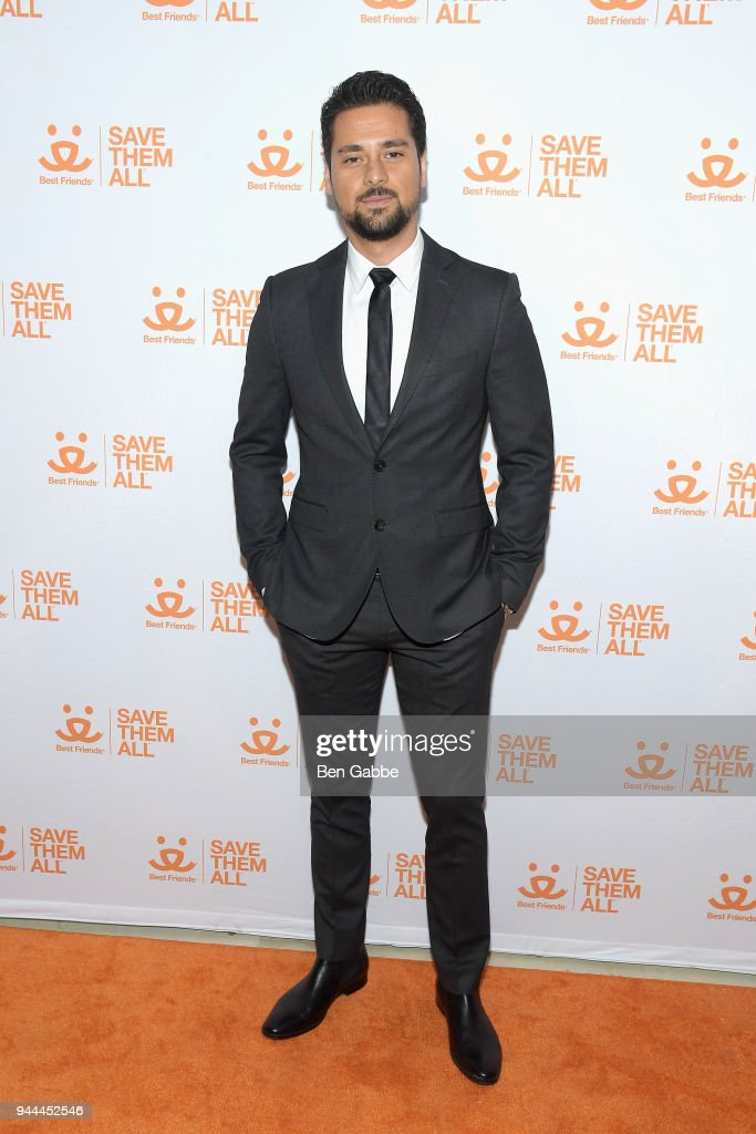 Actor J.R. Ramirez attends the Best Friends Animal Society's 3rd Annual New York City Gala at Guastavino's on April 10, 2018 in New York City.