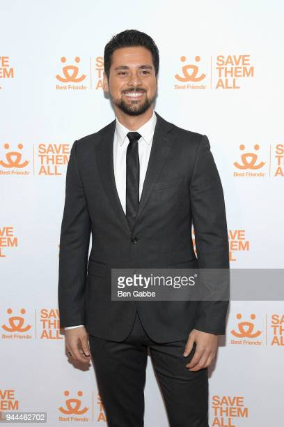 Actor JR Ramirez attends the Best Friends Animal Society's 3rd Annual New York City Gala at Guastavino's on April 10 2018 in New York City