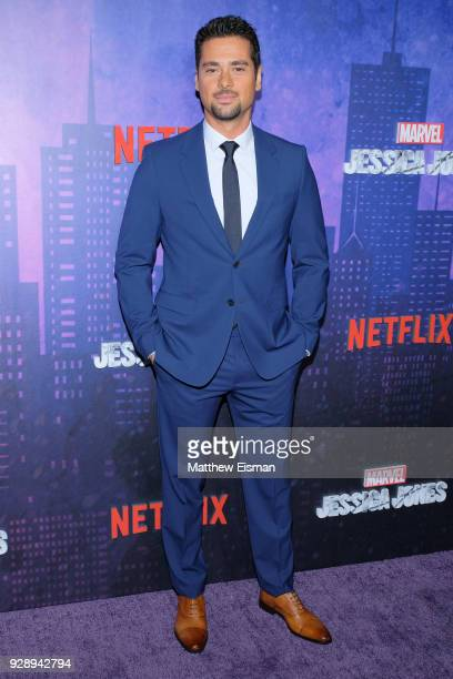 Actor JR Ramirez attends the Jessica Jones Season 2 New York Premiere at AMC Loews Lincoln Square on March 7 2018 in New York City