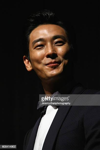Actor Ju Jihoon attends the Asura The City Of Madness premiere held at The Elgin during the Toronto International Film Festival on September 13 2016...