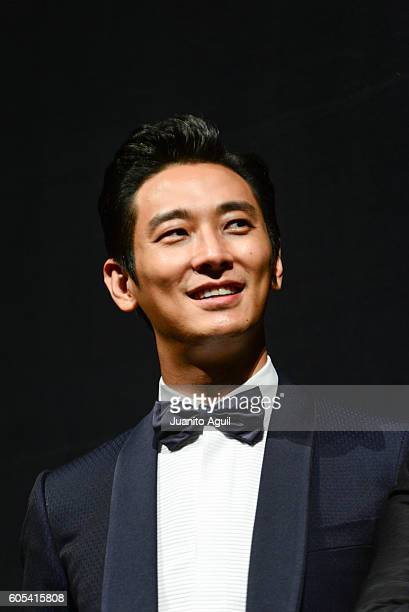 Actor Ju JiHoon attends the 'AsuraThe City Of Madness' premiere during the 2016 Toronto International Film Festival at The Elgin on September 13 2016...