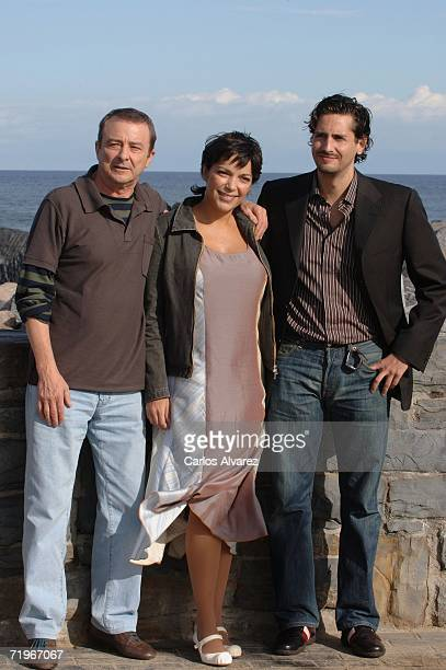 Actor Juan Diego actress Cristina Plazas and actor Juan Diego Botto attend a photocall for Vete de Mi during the second day of 54th San Sebastian...