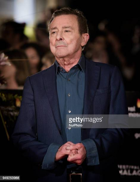 Actor Juan Diego attends 'Casi 40' premiere during the 21th Malaga Film Festival at the Cervantes Theater on April 20 2018 in Malaga Spain