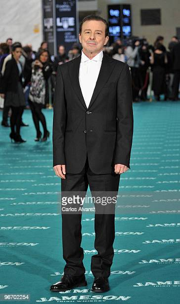 Actor Juan Diego attends Goya awards 2010 photocall at Palacio de Congresos on February 14 2010 in Madrid Spain