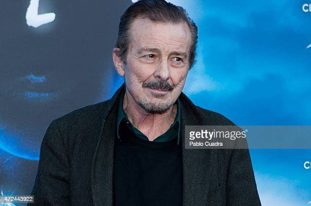 Actor Juan Diego attends the 'Cirque Du Soleil' photocall on May 7 2015 in Madrid Spain