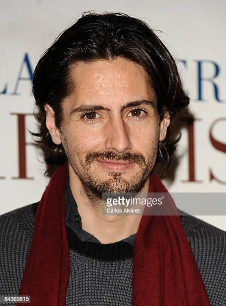 Actor Juan Diego Botto attends a photocall for The Anarchist's Wife on January 20 2009 at Princesa cinema in Madrid Spain