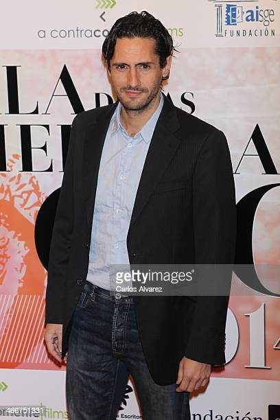 Actor Juan Diego Botto attends the CEC medals 2014 at the Palafox cinema on February 3 2014 in Madrid Spain