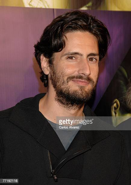 Actor Juan Diego Botto attends the Siete Mesas de Billar Frances premiere on October 04 2007 at Palacio de la Musica Cinema in Madrid