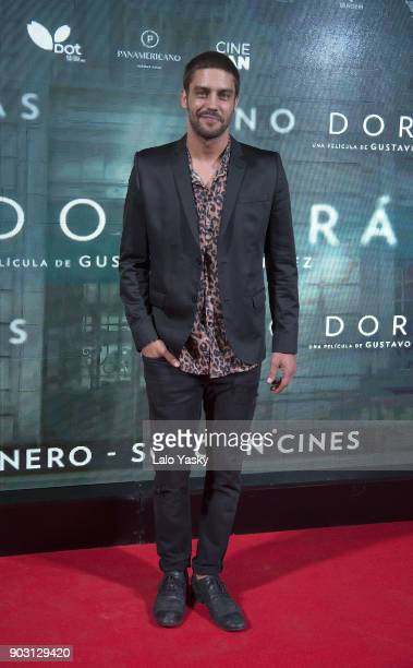 Actor Juan Manuel Guilera attends the 'No Dormiras' premiere at the Hoyts Dot Baires cinema on January 9 2018 in Buenos Aires Argentina