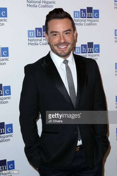 Actor Juan Pablo Espinoza attends the 20th Annual National Hispanic Media Coalition Impact Awards Gala at Regent Beverly Wilshire Hotel on February...