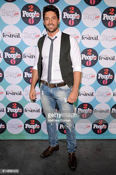 Actor Juan Pablo Llano attends the 5th Annual Festival PEOPLE En Espanol Day 1 at the Jacob Javitz Center on October 15 2016 in New York City