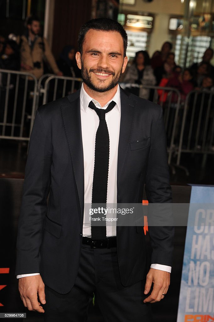 USA - Point Break premiere in Los Angeles. : News Photo