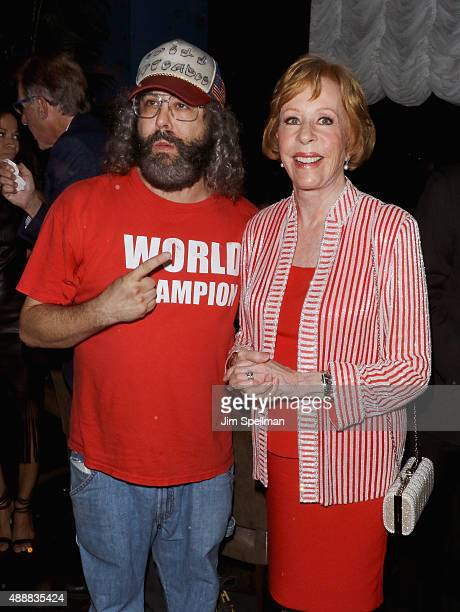 """Actor Judah Friedlander and actress/comedian Carol Burnett attend the after party for """"The Carol Burnett Show: The Lost Episodes"""" screening hosted by..."""