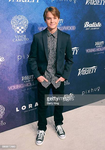 Actor Judah Lewis attends Variety's Power of Young Hollywood event, presented by Pixhug, with Platinum Sponsor Vince Camuto at NeueHouse Hollywood on...