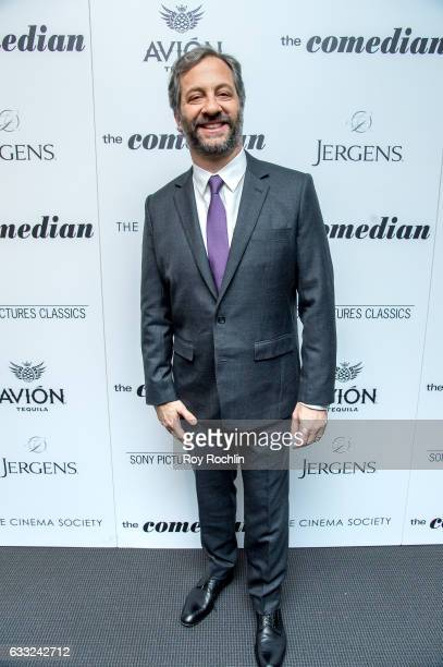 Actor Judd Apatow attend a Screening Of Sony Pictures Classics' 'The Comedian' at Museum of Modern Art on January 31 2017 in New York City