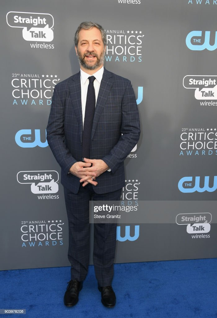 Actor Judd Apatow attends The 23rd Annual Critics' Choice Awards at Barker Hangar on January 11, 2018 in Santa Monica, California.