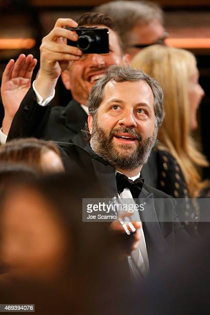 Actor Judd Apatow during the 2015 TV Land Awards at Saban Theatre on April 11 2015 in Beverly Hills California