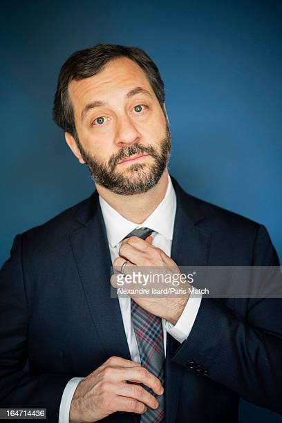 Actor Judd Apatow is photographed for Paris Match on January 28 2013 in Paris France