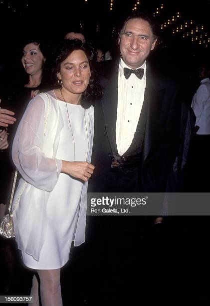 Actor Judd Hirsch and wife Bonni Chalkin attend the 46th Annual Tony Awards on May 31 1992 at Gershwin Theatre in New York City New York