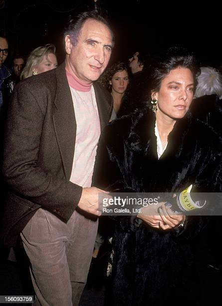 Actor Judd Hirsch and wife Bonni Chalkin attend the Broadway Opening Night Performance of 'A Streetcar Named Desire' on April 12 1992 at Ethel...