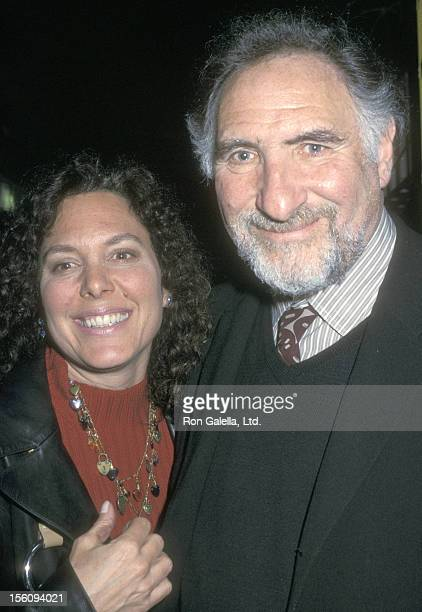 Actor Judd Hirsch and wife Bonni Chalkin attend the 'Fortune's Fool' Broadway Closing Night Performance on April 2 2002 at Music Box Theatre in New...