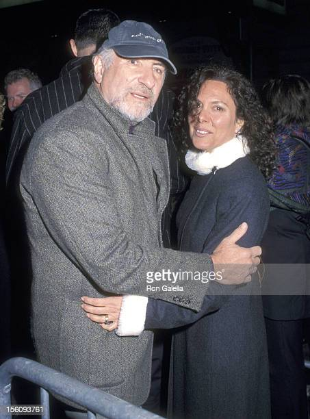 Actor Judd Hirsch and wife Bonni Chalkin attend 'The Graduate' Broadway Opening Night Performance on April 4 2002 at Plymouth Theatre in New York...