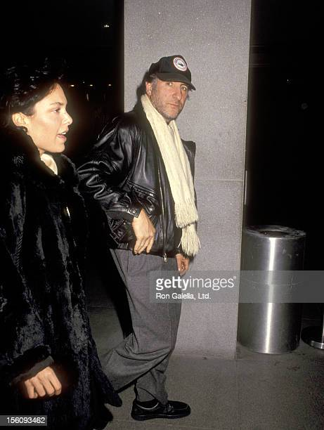 Actor Judd Hirsch and wife Bonni Chalkin attend the 'Guilty by Supicion' New York City Premiere on March 11 1991 at Museum of Modern in New York City...