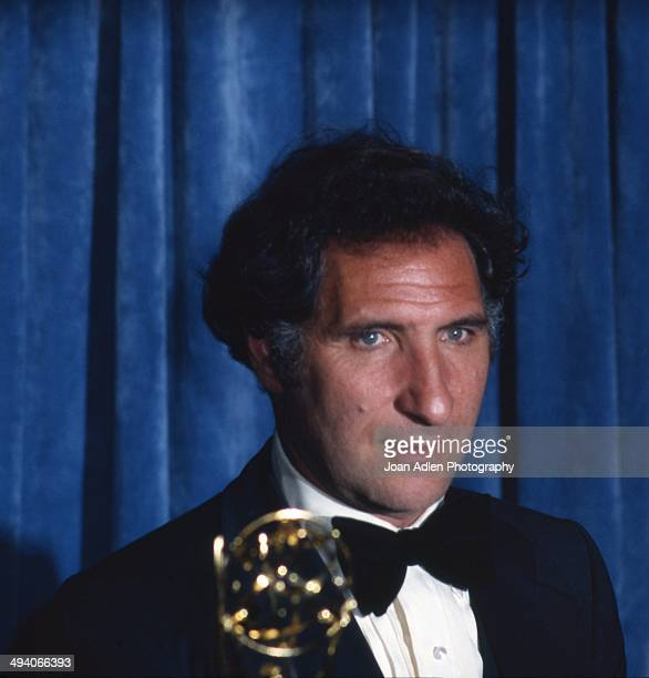 Actor Judd Hirsch wins award for Outstanding Lead Actor in a Comedy Series Taxi at the 35th Annual Primetime Emmy Awards held at the Pasadena Civic...