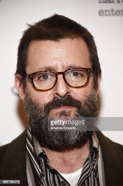 Actor Judd Nelson arrives at the 1/1 Los Angeles Premiere at The Ray Stark Family Theatre on June 28 2018 in Los Angeles California