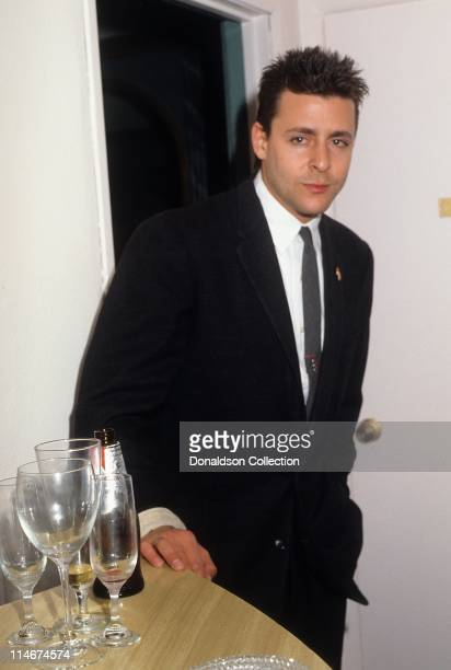 Actor Judd Nelson poses for a portrait in November 1987 in Los Angeles California